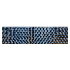 Parametric Wall Pattern Satin Scarf (Oblong)