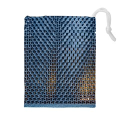 Parametric Wall Pattern Drawstring Pouches (Extra Large)
