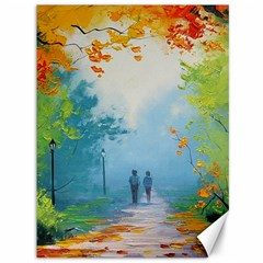 Park Nature Painting Canvas 36  x 48