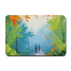 Park Nature Painting Small Doormat