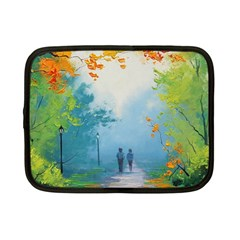 Park Nature Painting Netbook Case (small)