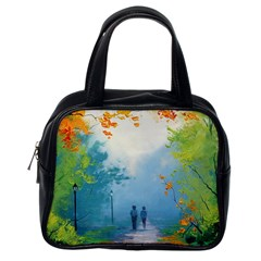 Park Nature Painting Classic Handbags (one Side)