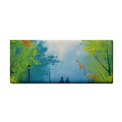 Park Nature Painting Cosmetic Storage Cases