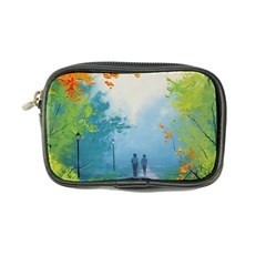 Park Nature Painting Coin Purse