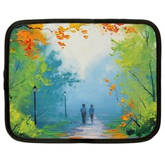 Park Nature Painting Netbook Case (xl)