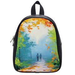 Park Nature Painting School Bags (small)