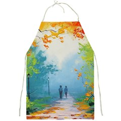 Park Nature Painting Full Print Aprons