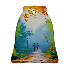 Park Nature Painting Ornament (bell)