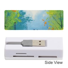 Park Nature Painting Memory Card Reader (Stick)