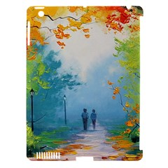 Park Nature Painting Apple iPad 3/4 Hardshell Case (Compatible with Smart Cover)