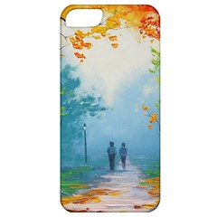 Park Nature Painting Apple Iphone 5 Classic Hardshell Case