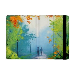 Park Nature Painting Apple Ipad Mini Flip Case