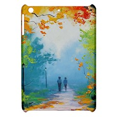 Park Nature Painting Apple iPad Mini Hardshell Case