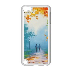 Park Nature Painting Apple iPod Touch 5 Case (White)