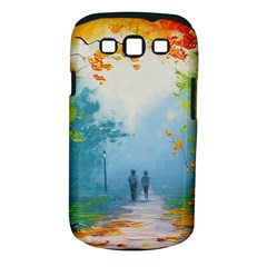 Park Nature Painting Samsung Galaxy S Iii Classic Hardshell Case (pc+silicone)