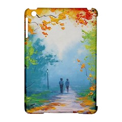 Park Nature Painting Apple Ipad Mini Hardshell Case (compatible With Smart Cover)
