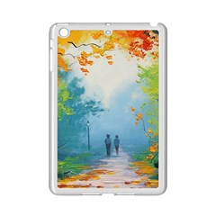 Park Nature Painting Ipad Mini 2 Enamel Coated Cases