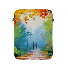 Park Nature Painting Apple iPad 2/3/4 Protective Soft Cases