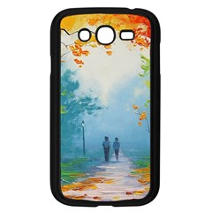 Park Nature Painting Samsung Galaxy Grand DUOS I9082 Case (Black)