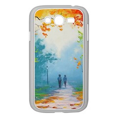 Park Nature Painting Samsung Galaxy Grand Duos I9082 Case (white)