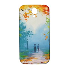 Park Nature Painting Samsung Galaxy S4 I9500/I9505  Hardshell Back Case