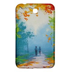 Park Nature Painting Samsung Galaxy Tab 3 (7 ) P3200 Hardshell Case