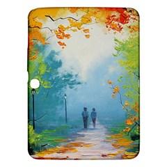 Park Nature Painting Samsung Galaxy Tab 3 (10 1 ) P5200 Hardshell Case