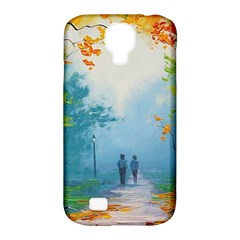 Park Nature Painting Samsung Galaxy S4 Classic Hardshell Case (pc+silicone)