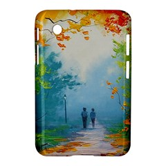 Park Nature Painting Samsung Galaxy Tab 2 (7 ) P3100 Hardshell Case