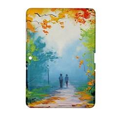 Park Nature Painting Samsung Galaxy Tab 2 (10 1 ) P5100 Hardshell Case