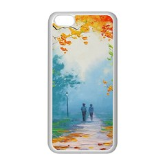 Park Nature Painting Apple Iphone 5c Seamless Case (white)