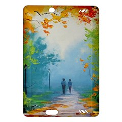 Park Nature Painting Amazon Kindle Fire HD (2013) Hardshell Case