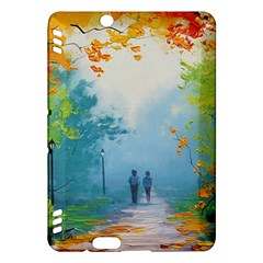 Park Nature Painting Kindle Fire HDX Hardshell Case