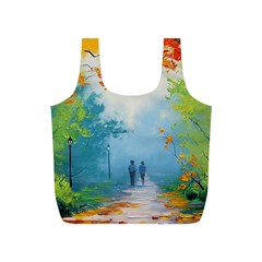 Park Nature Painting Full Print Recycle Bags (s)