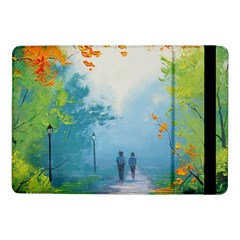Park Nature Painting Samsung Galaxy Tab Pro 10 1  Flip Case