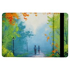 Park Nature Painting Ipad Air Flip