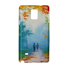 Park Nature Painting Samsung Galaxy Note 4 Hardshell Case