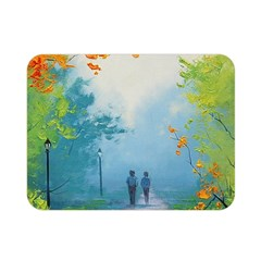Park Nature Painting Double Sided Flano Blanket (mini)