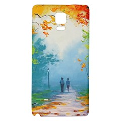 Park Nature Painting Galaxy Note 4 Back Case