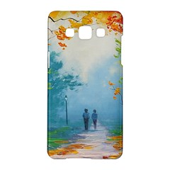 Park Nature Painting Samsung Galaxy A5 Hardshell Case