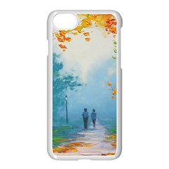 Park Nature Painting Apple Iphone 7 Seamless Case (white)