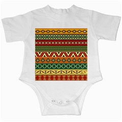 Mexican Folk Art Patterns Infant Creepers