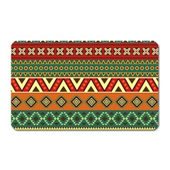Mexican Folk Art Patterns Magnet (rectangular)