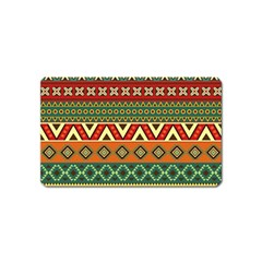 Mexican Folk Art Patterns Magnet (name Card)