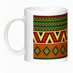 Mexican Folk Art Patterns Night Luminous Mugs