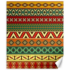 Mexican Folk Art Patterns Canvas 8  X 10