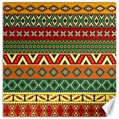 Mexican Folk Art Patterns Canvas 12  X 12