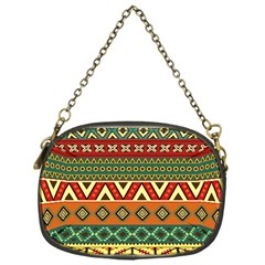 Mexican Folk Art Patterns Chain Purses (one Side)