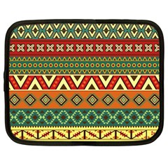 Mexican Folk Art Patterns Netbook Case (xxl)
