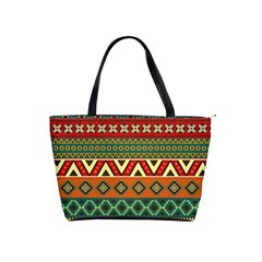 Mexican Folk Art Patterns Shoulder Handbags